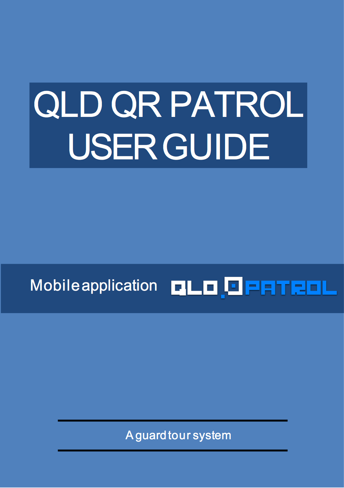 Web Application User Guide